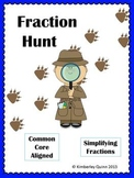 Fraction Hunt: Simplifying Fractions (Grades 4 and 5)
