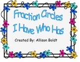 Fraction I Have Who Has