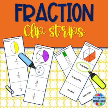 Fraction ID Clip Strips