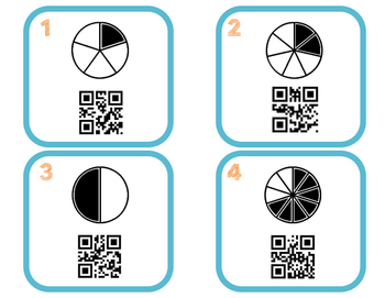 Fraction Identification QR Codes