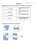 Fraction Identification and Unit Fraction Equation Quizzes