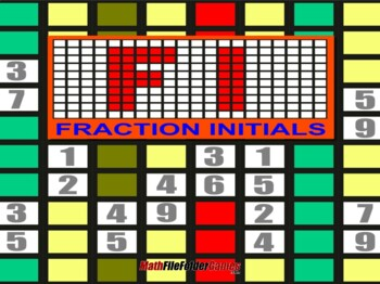 Fraction Initials