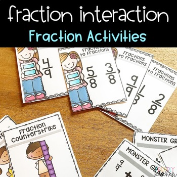 Fraction Games for equivalency, comparing, and more!