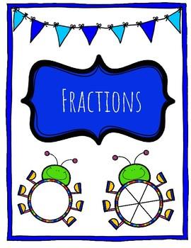 Fraction Interactive Digital Notebook