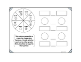 Fraction Interactive Journal Items and Activities