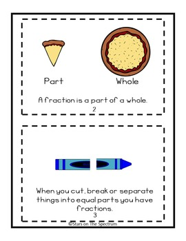 Fractions * Fractions Interactive Mini Book