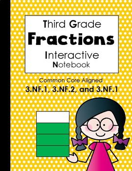 Fraction Interactive Notebook (Third Grade)