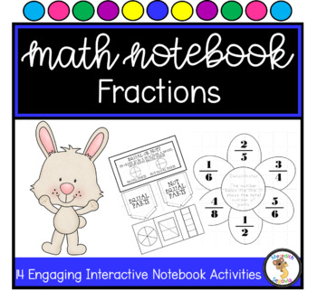 Fraction Interactive Notebook Unit