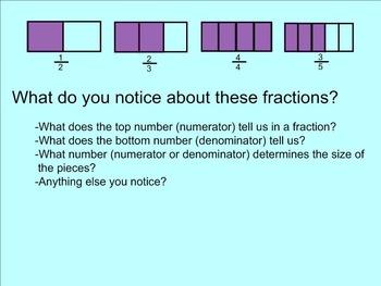 Fraction Introduction SMARTnotebook
