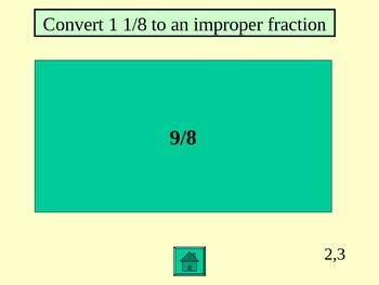 Fraction Jeopardy 1