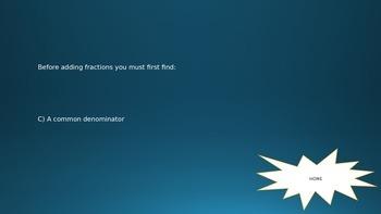 Fraction Jeopardy!