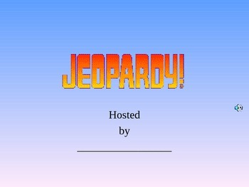 Fraction Jeopardy Game