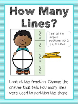 Fraction Kids - 5 Clothespin Math Centers