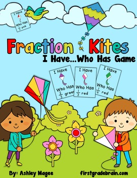 Fraction Kites I Have Who Has Game