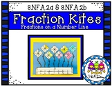 Fraction Kites on a Number Line (Grade 3 GoMath! 8.5)