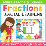 Fraction Smartboard and Powerpoint