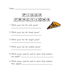 Fraction Lesson Plan with Resources
