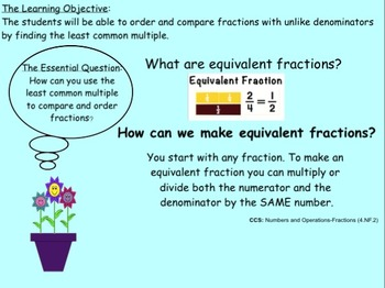 Fraction Lesson for Smart Board! OBSERVATION READY!! Gr. 3,4,5