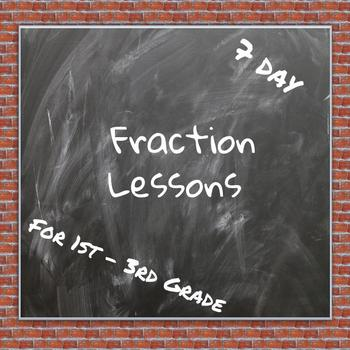 #ChristmasinJuly Fraction Lessons