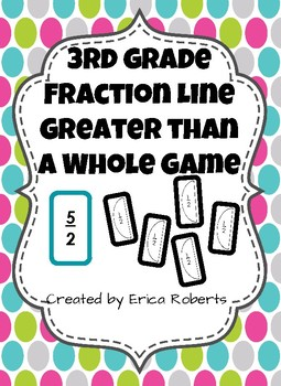 Fraction Line Greater than a Whole Game