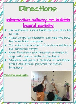 Fraction Line - Interactive Activity