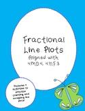 Fraction Line Plots