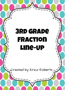 Fraction Line Up