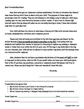Fraction Literacy Kit Idea