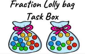 Fraction Lolly Bag (Task Cards)