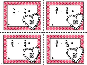 Fraction Love: Adding and Subtracting Fractions with Mixed Denominators
