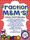 Fraction M&M's (Candy Math)