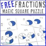 FREE Fraction Games, Centers, Activities, or Worksheet Alt