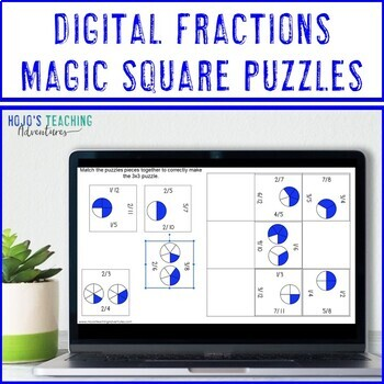 Fraction Games | Fraction Activities | Fraction Math Centers or Stations