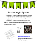 Fraction Magic Squares