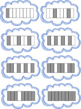 Fraction Match Game Common Core Aligned 3.NF.A.1
