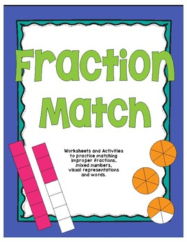 Fraction Match (Improper Fractions and Mixed Numbers)