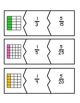 Fraction Match-Up