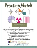 Fraction Matching- CCSS.Math.Content.2.G.A.3