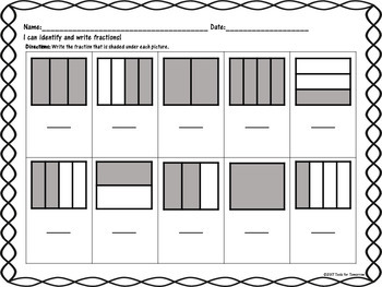 Fraction Matching Activity