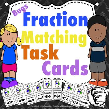 Fraction Matching Bug Theme