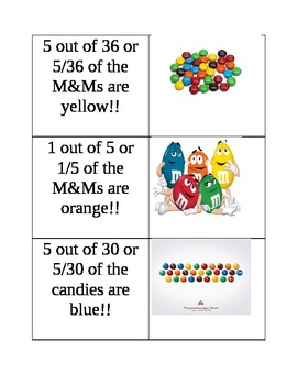 Fraction Matching Card Game