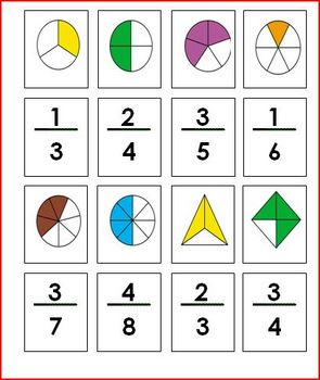 Fraction Matching Concentration Game