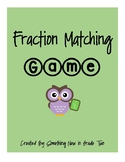 Fraction Matching Game!