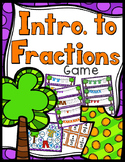 Beginning Fractions Game - 30 Task Cards