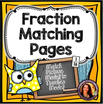 Fraction Matching Sheets