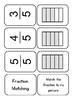 Fraction Matching Tin Cards