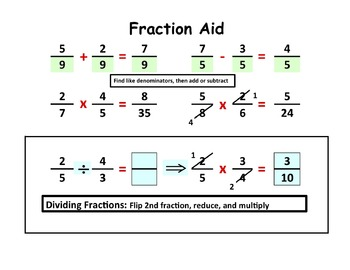 Fraction Math Aid