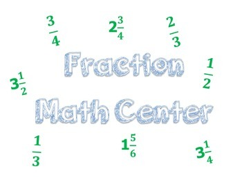 Fraction Math Center