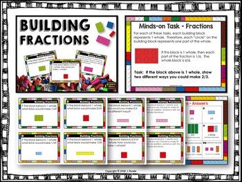Fraction Math Center Bundle