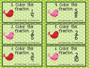 Fractions: Valentine's Day